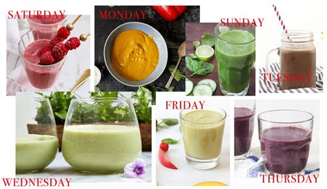 Week Smoothie Detox by 7 Days Of Smoothies A Great One Week Detox The New Potato