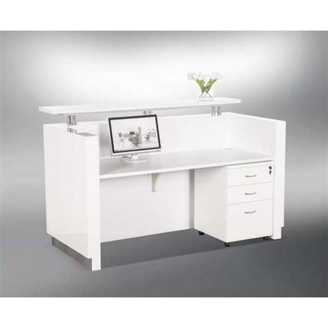 Hugo White Reception Desk. Dandenong South, Melbourne
