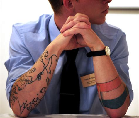 should tattoos be allowed in the workplace why tattoos should be allowed in the workplace