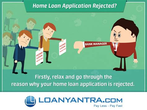 home loan application rejected loanyantra get home