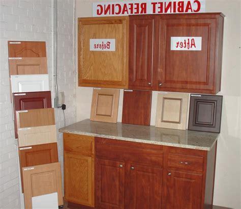 cabinet refacing photos