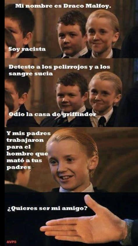 Draco Memes - draco malfoy un ni 241 o muy idiota meme by riqueprola