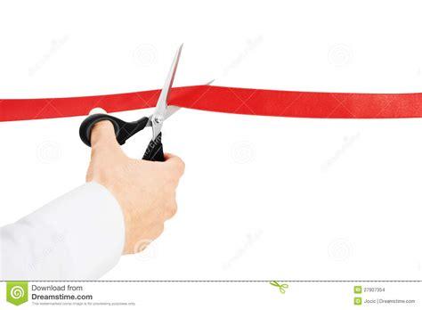 cortar imagenes cortar la cinta roja foto de archivo imagen de actividad