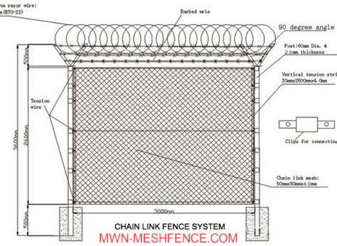 wire details airport fence from mwn mesh fence factory b2b marketplace