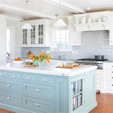 paint colors for kitchen island bhg centsational style