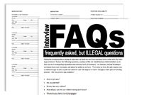 Illegal Application Questions Service Roundtable