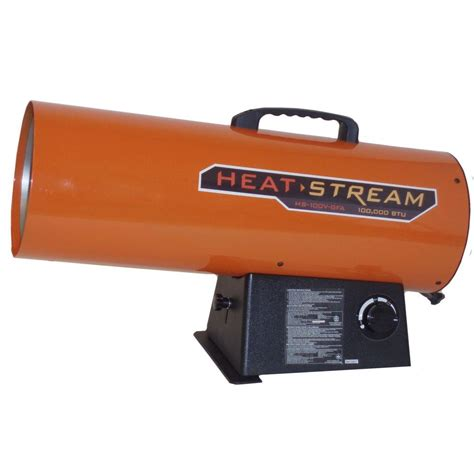 heat 125 000 btu forced air propane heater hs 125v