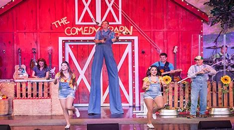 comedy barn theater  pigeon forge tn