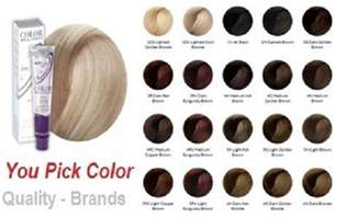 ion color brilliance chart color brilliance ion color chart images