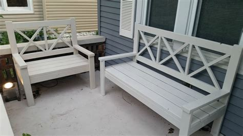 porch bench plans ana white large porch bench alaska lake cabin diy projects