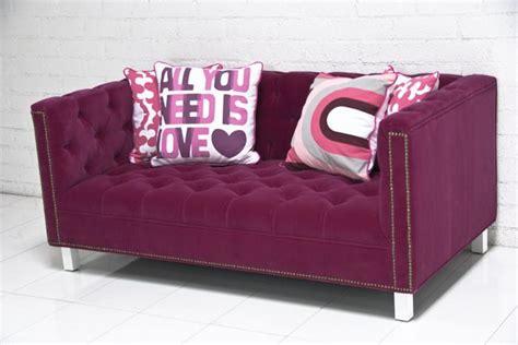 hot pink loveseat hot pink loveseat beautiful pink decoration