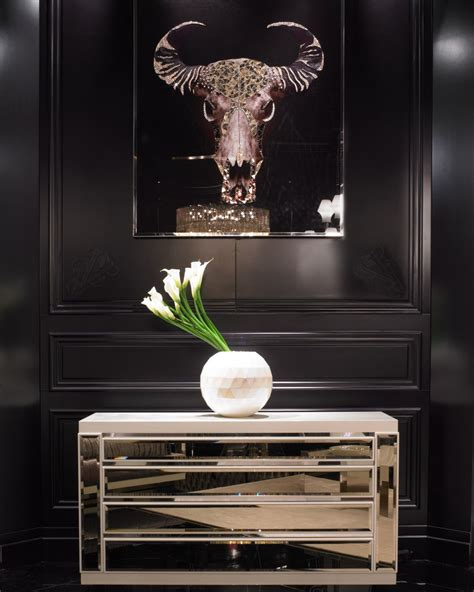 swarovski home decor luxe italian designer swarovski wall buffalo