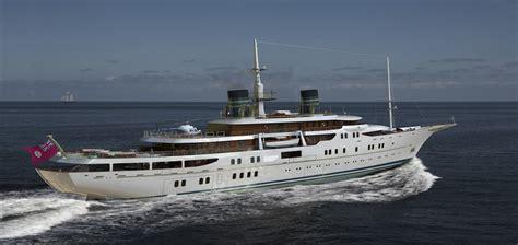 vos motors blohm voss 111m motor yacht vintage yacht charter