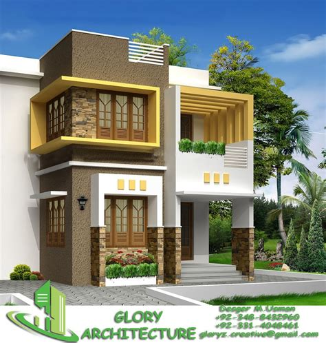 modern house elevation pleas contact