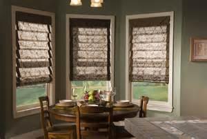 Bow Window Treatment roman shades roman window shades roman blinds
