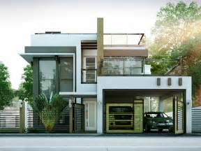 Modern 2 Story House Plans by Modern House Designs Series Mhd 2014010 Pinoy Eplans