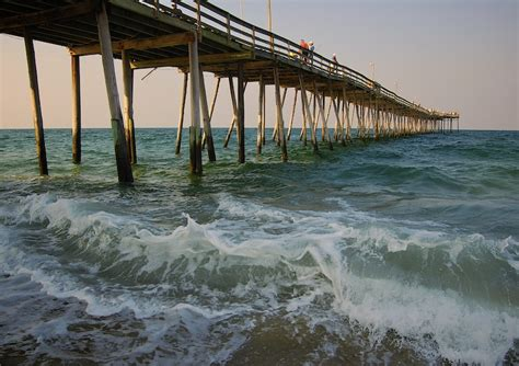 Nags Fishing Pier Cottages by Nags Fishing Pier On The Outer Banks Nc Cary