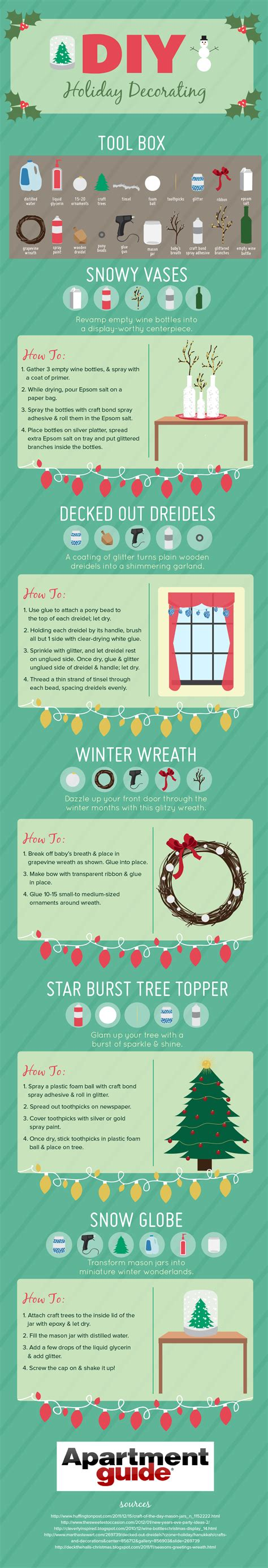 Diy Home Decorations Ideas how to create a diy winter wonderland apartmentguide com