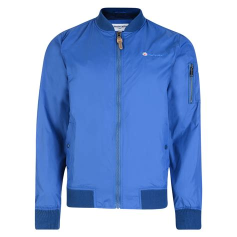 Royal Jacket lambretta mens classic royal blue lightweight ma1 bomber