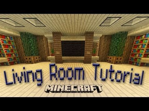 Living Room Design Minecraft Pe Minecraft How To Make An Awesome Living Room Design