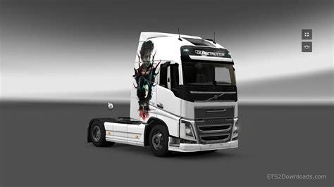 2012 volvo truck hannibal skin for volvo fh 2012 euro truck simulator 2 mods