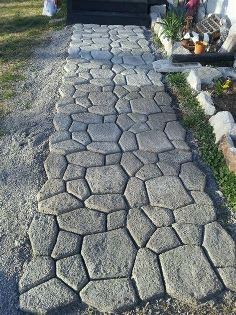 diy walkway outdoors pinterest walkways