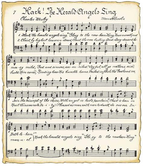 printable christmas hymns free christmas printables to use as decor