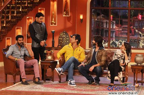 comedy nights with kapil on the sets the times of india photos r rajkumar film promotion on the sets of comedy