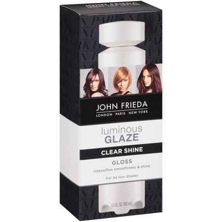 frieda luminous color glaze clear shine frieda clear shine luminous color glaze 6 5 fl oz