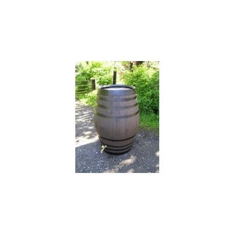 100 gallon barrel barrel garden 100 gallon stained oak barrel water