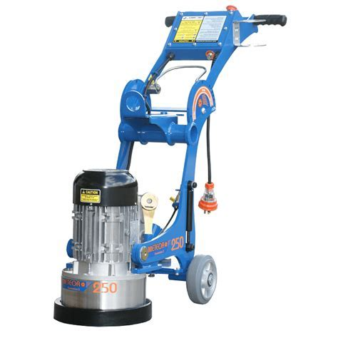Concrete Preparation, Grinding & Polishing Equipment