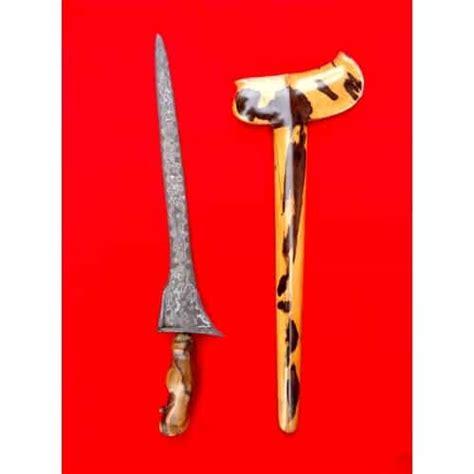 Sepasang Keris Kuno Sepuh keris kebo lajer pamor udan mistik center