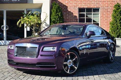Gallery Purple Silk Rolls Royce Wraith