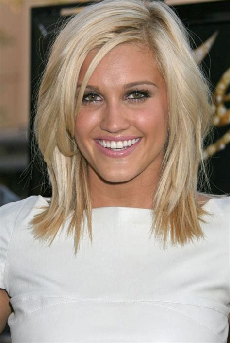 hairstyles blonde mid length short hair styles celebrity blonde medium length