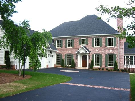 brick colonial house plans beautiful colonial colonial house plan alp 096p chatham design group house plans
