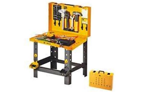 jcb tool bench jcb workbench amazon co uk toys games
