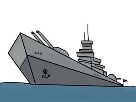 how to draw a navy boat how to draw a ship with pictures wikihow