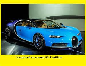 Cost Of A Bugatti 2017 Bugatti Chiron Price Used Auto Parts