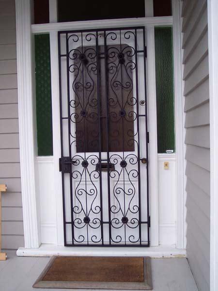 security doors gates forging  fabrication
