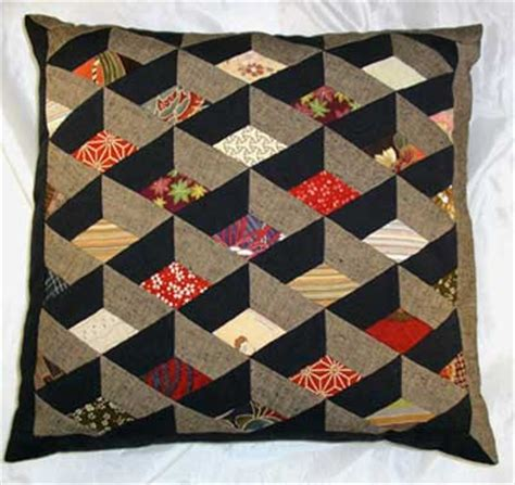 Japanese Patchwork Patterns - japan links limited japanese box cushion crafts