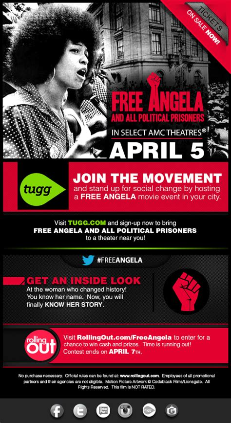 Event Join The Movement by Join The Movement Freeangela The Gripping Story Of