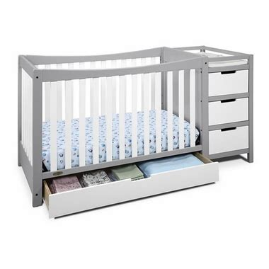 graco white convertible crib graco remi 4 in 1 convertible crib and changer in white