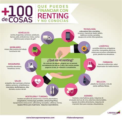 renting banco 191 qu 233 cosas puedes financiar a trav 233 s renting