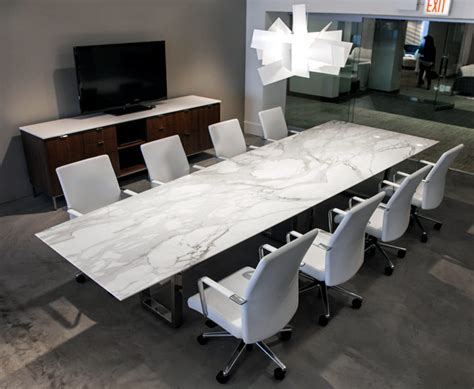 marble conference room table contemporary conference table ambience dor 233
