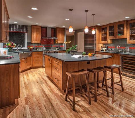 natural oak kitchen cabinets natural oak cabinets with classique cuisine d 233 coration