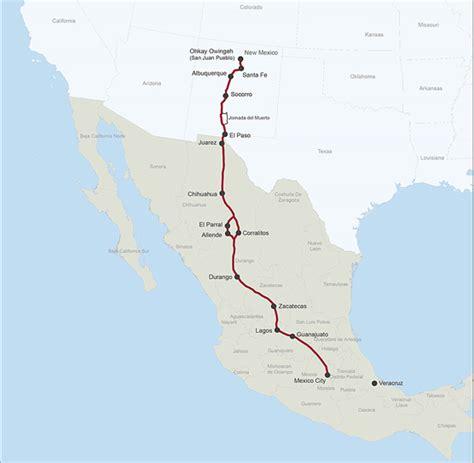 el camino real el camino real de tierra adentro national historic trail