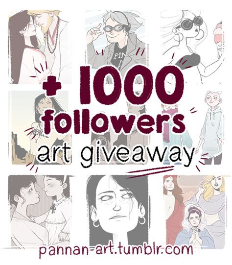 tumblr art giveaway by nibilondiel on deviantart - Art Giveaway Tumblr