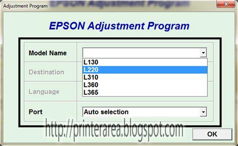 cara resetter epson l360 cara reset waste ink pad epson l130 l220 l310 l360