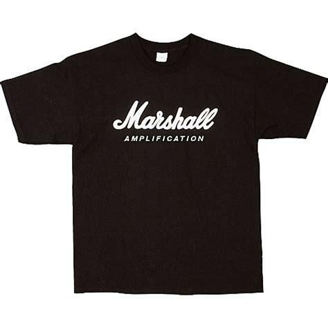 marshall logo t shirt musician s friend