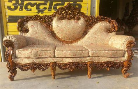wood carving sofa furniture sofa manufacturer in saharanpur uttar pradesh india by